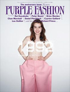 Purple Fashion  Magazine