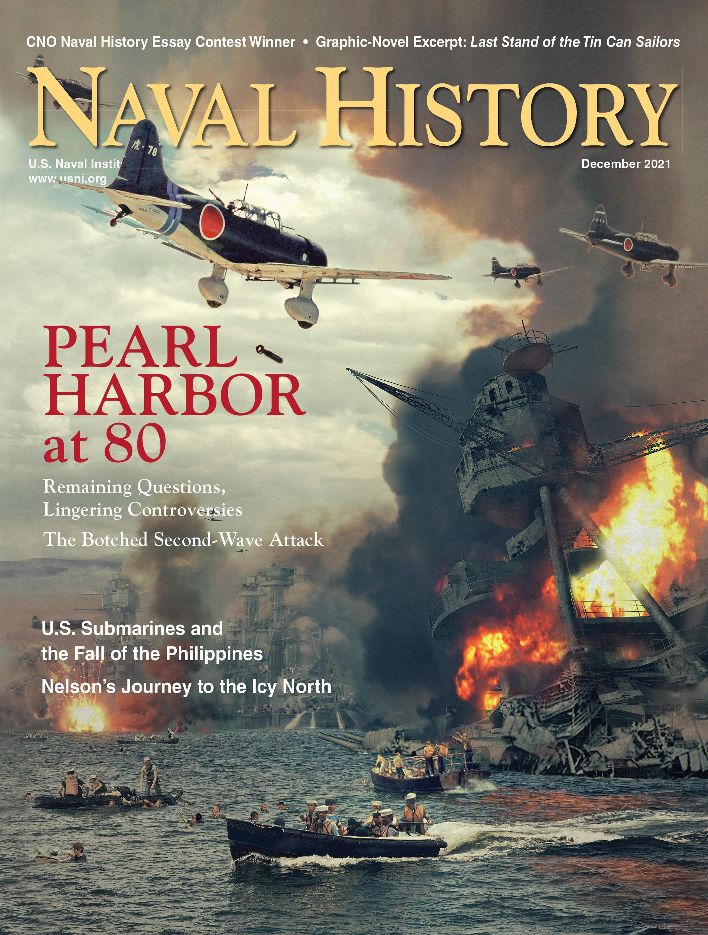 Naval History Magazine Cover