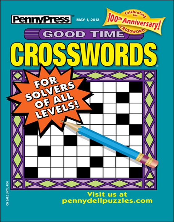 Best Price for Good Time Crosswords Magazine Subscription