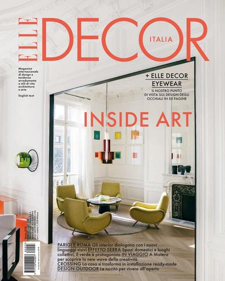 Elle Decor Italia Editon Magazine Cover