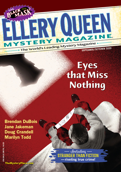 Ellery Queen's Mystery Magazine Magazine Cover
