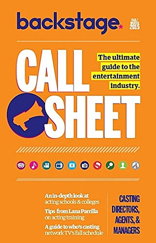 Call Sheet Magazine