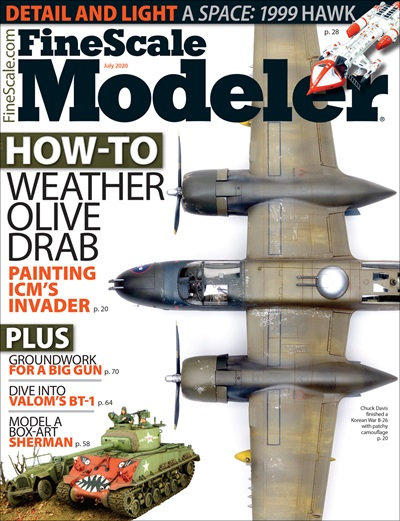 FineScale Modeler Magazine Cover