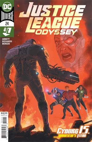 Justice League Odyssey Magazine