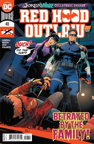 Red Hood and the Outlaws Magazine Cover