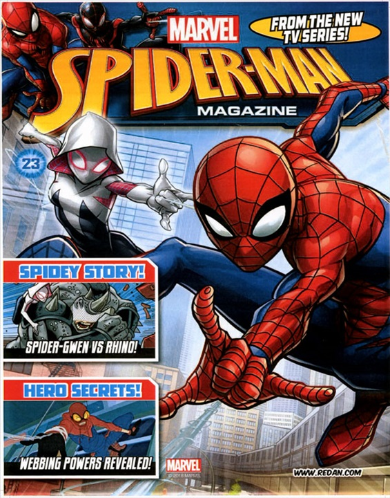 Marvel Spider-Man Playtime Magazine