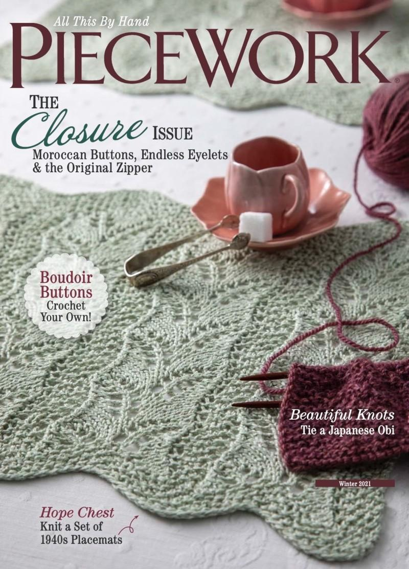 Piecework Magazine Cover