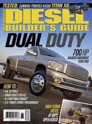 Ultimate Diesel Builder's Guide Magazine Cover