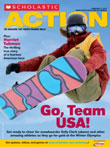 Scholastic Action Magazine Cover