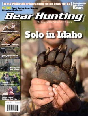 Bear Hunting Magazine Cover