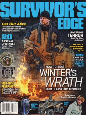 Survivors Edge Magazine Subscription Cover