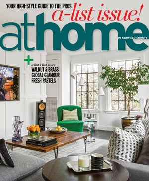 At Home in Fairfield County Magazine Cover