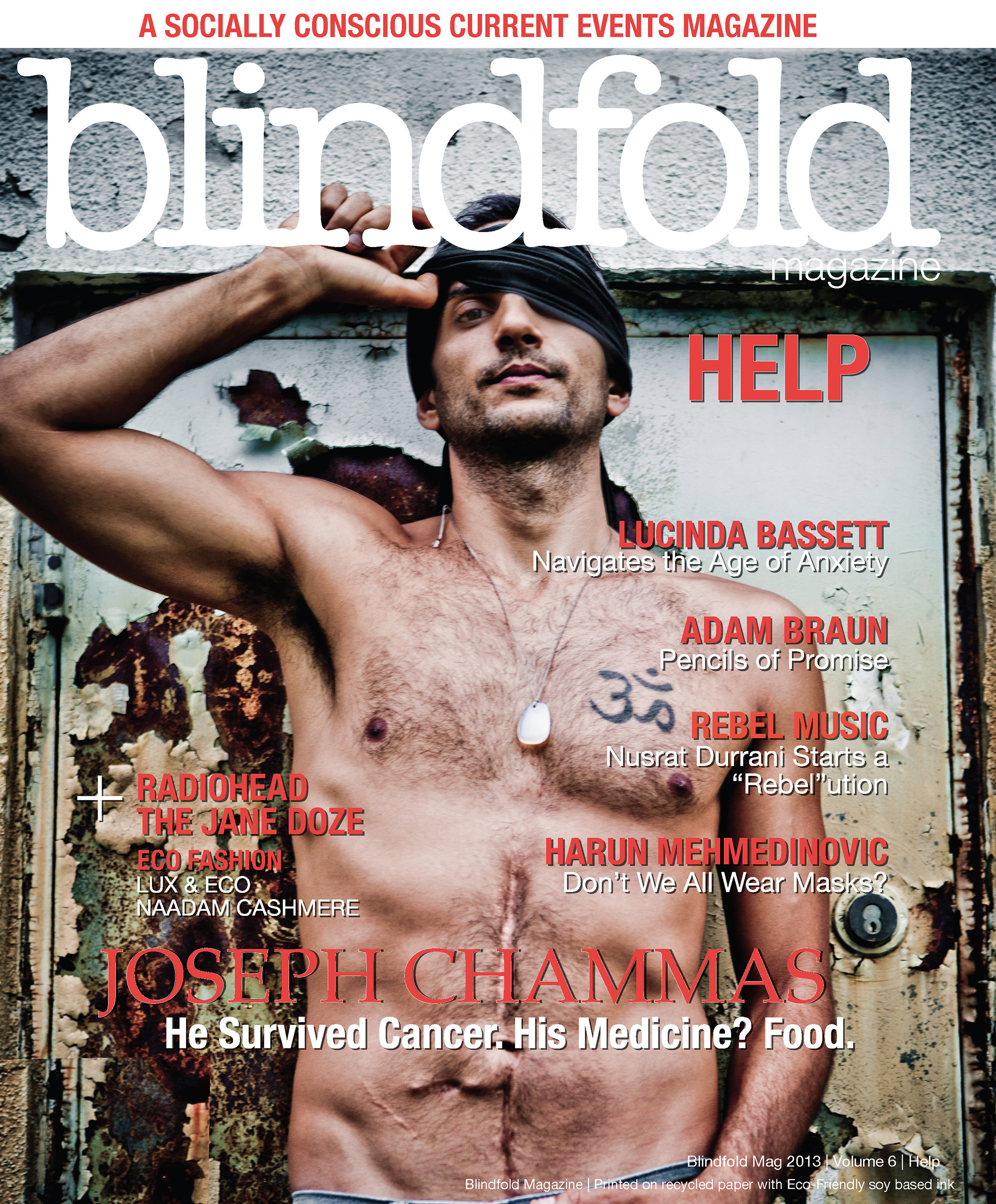 Blindfold Magazine Magazine Cover