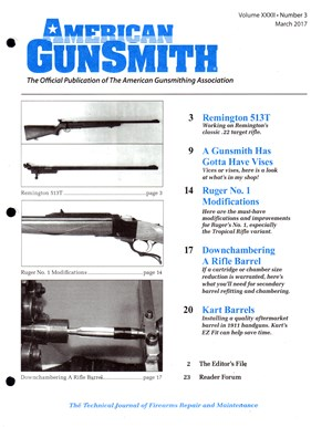American Gunsmith Magazine Cover