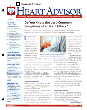 Heart Advisor Magazine