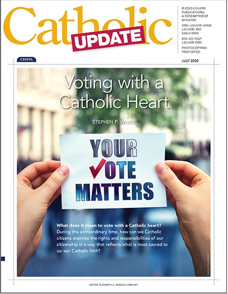 Catholic Update Magazine Cover