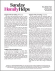 Homily Helps For Sundays Magazine