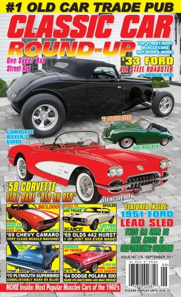 Classic Car Round-up Magazine