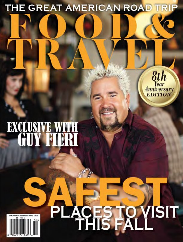 Food & Travel Magazine Cover