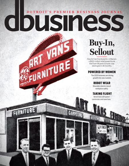 Dbusiness Magazine Cover