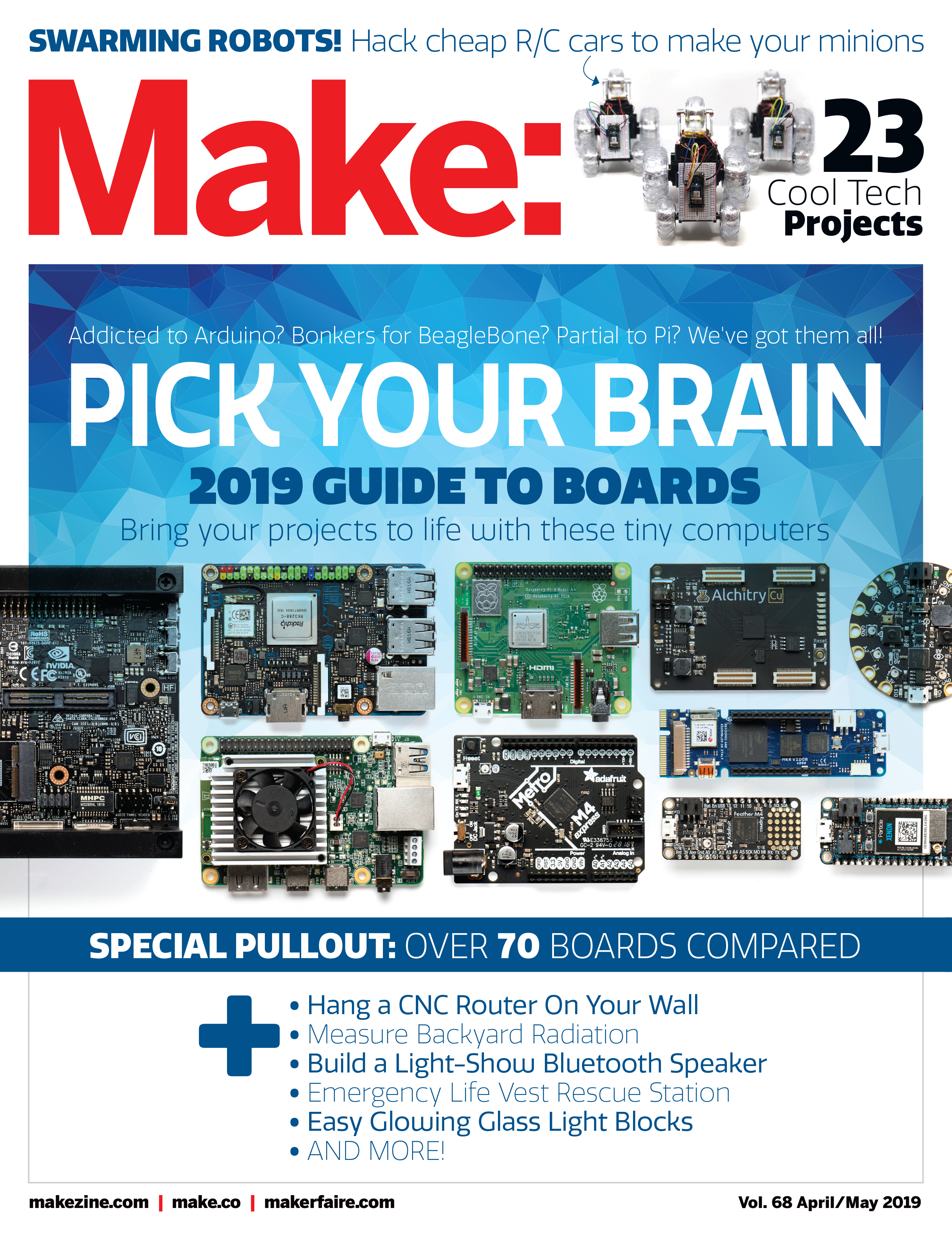 MAKE (Technology on Your Time) Magazine