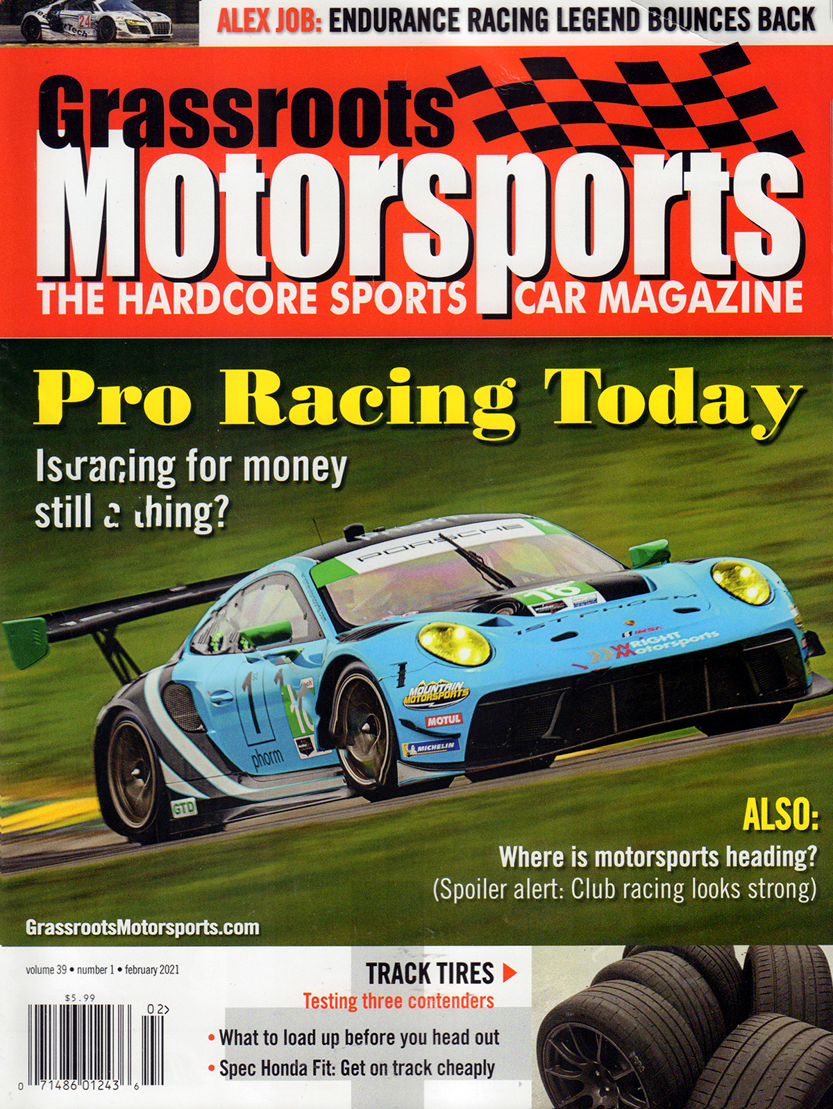 Grassroots Motorsports Magazine Cover