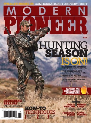Modern Pioneer Magazine Cover