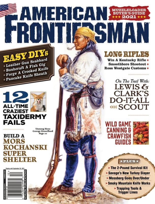 American Frontiersman Magazine Cover