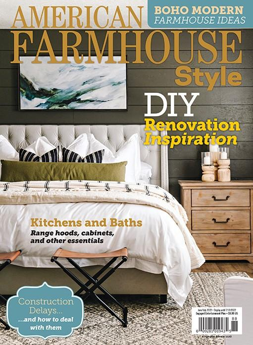 American Farmhouse Style Magazine Cover