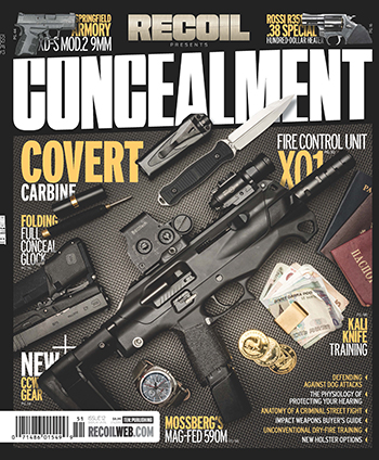 RECOIL Presents: Concealment Magazine