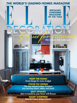Elle Decoration (UK) Magazine Cover