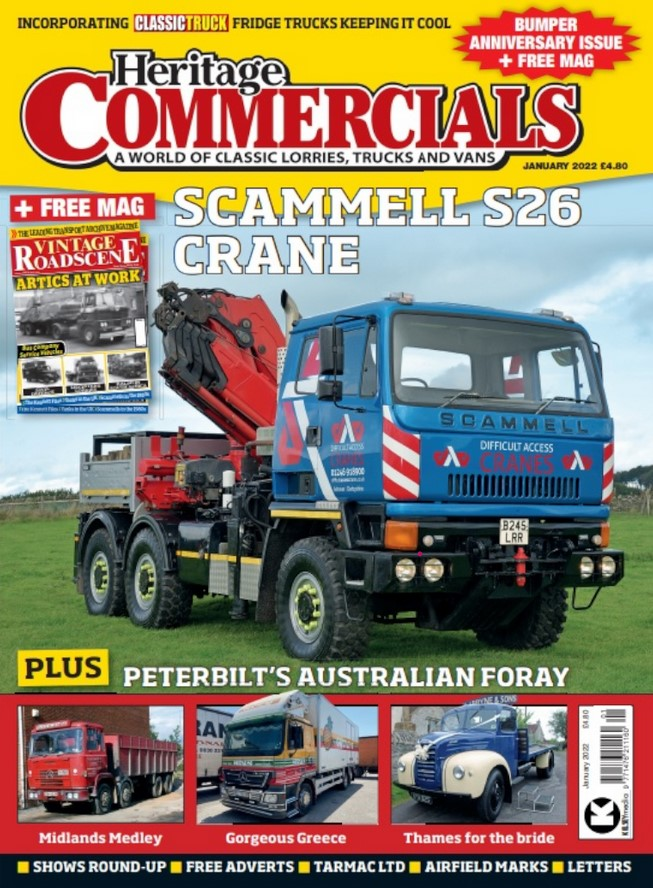 Heritage Commercials Magazine Cover