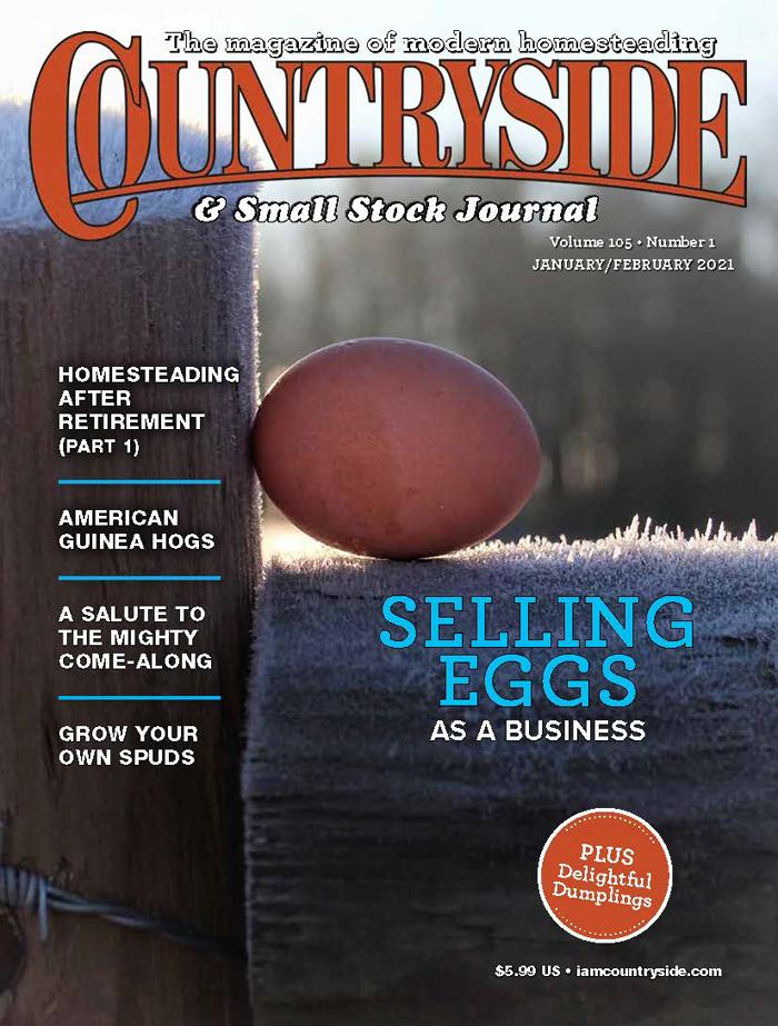 Countryside & Small Stock Journal Magazine Cover