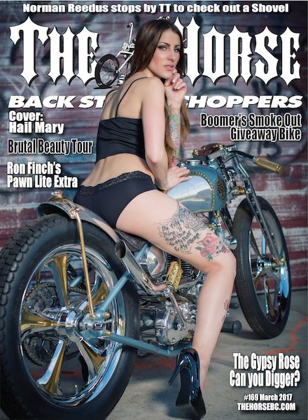 Horse Backstreet Chopper Magazine