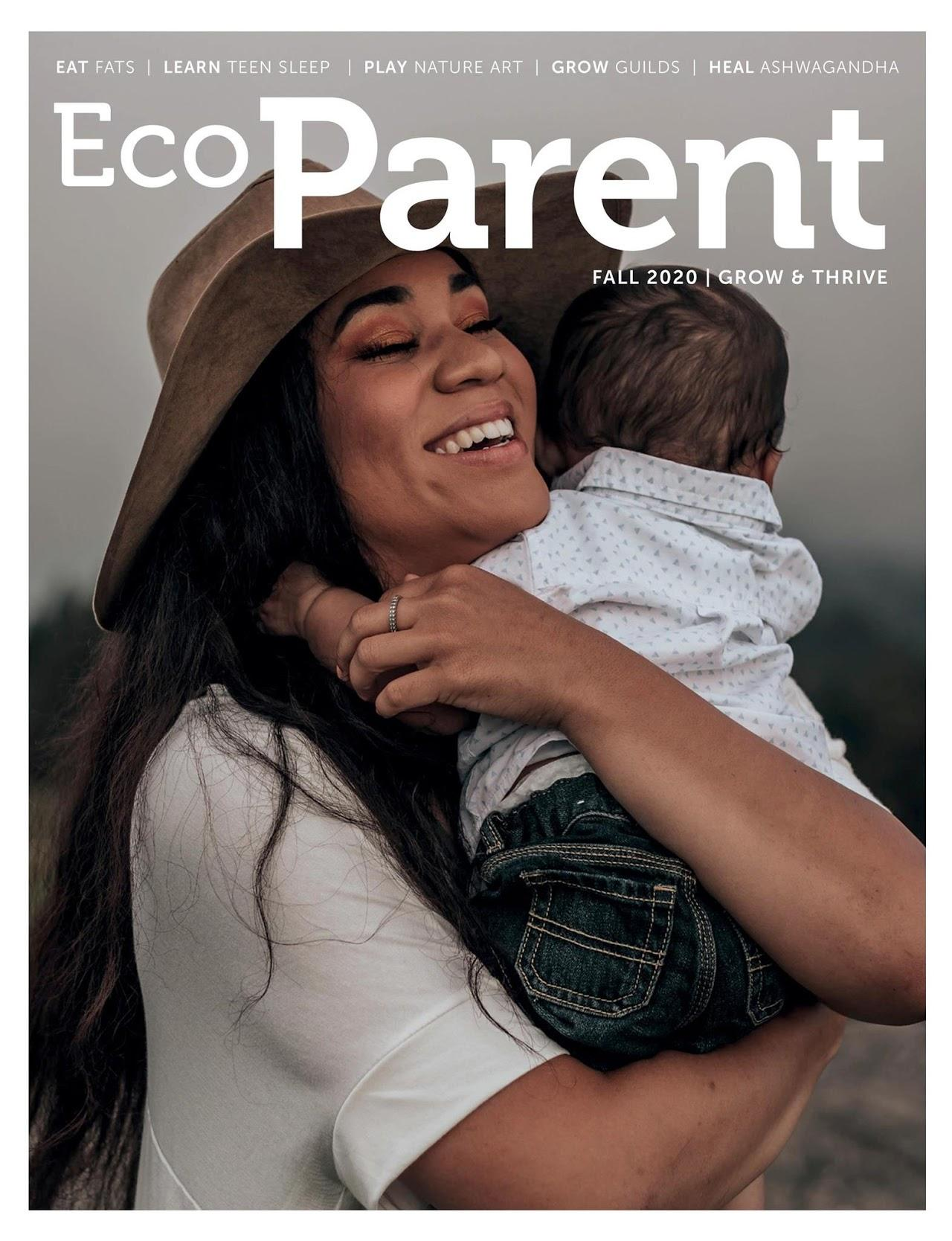 Ecoparent Magazine Cover