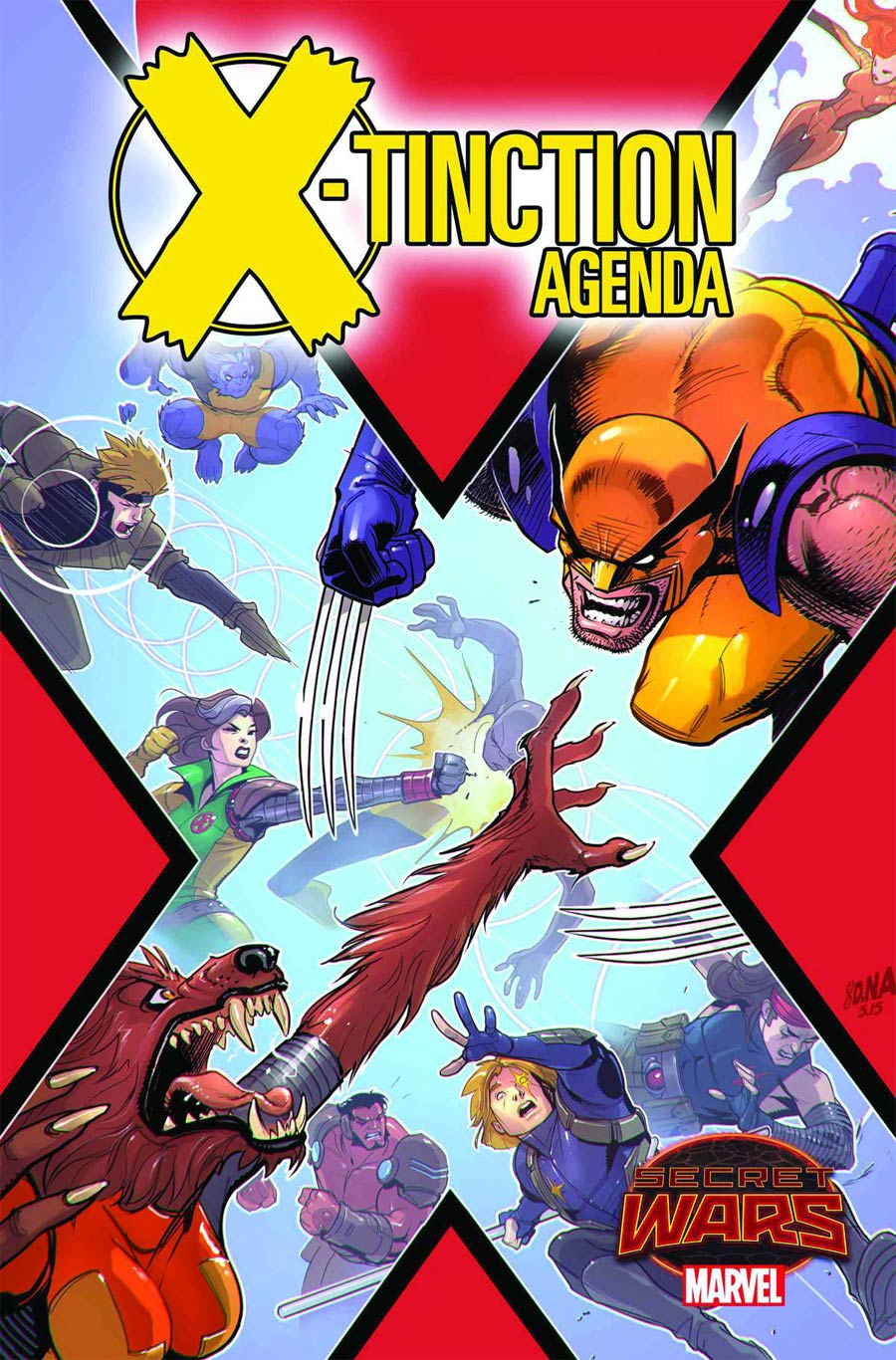 X-Tinction Agenda Magazine Subscription Cover