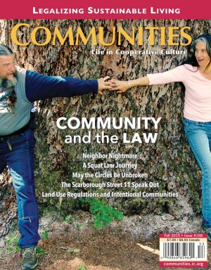 Communities Magazine Subscription Cover