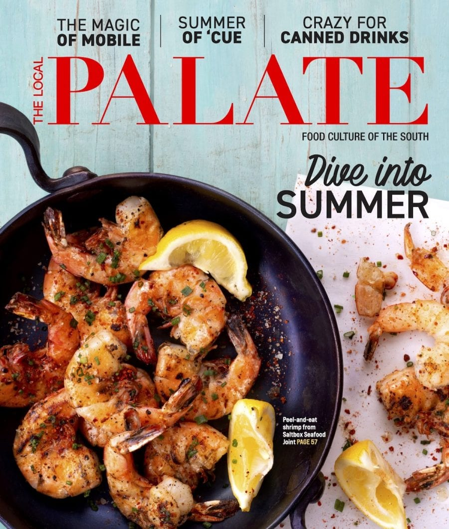 The Local Palate Magazine Subscription Cover