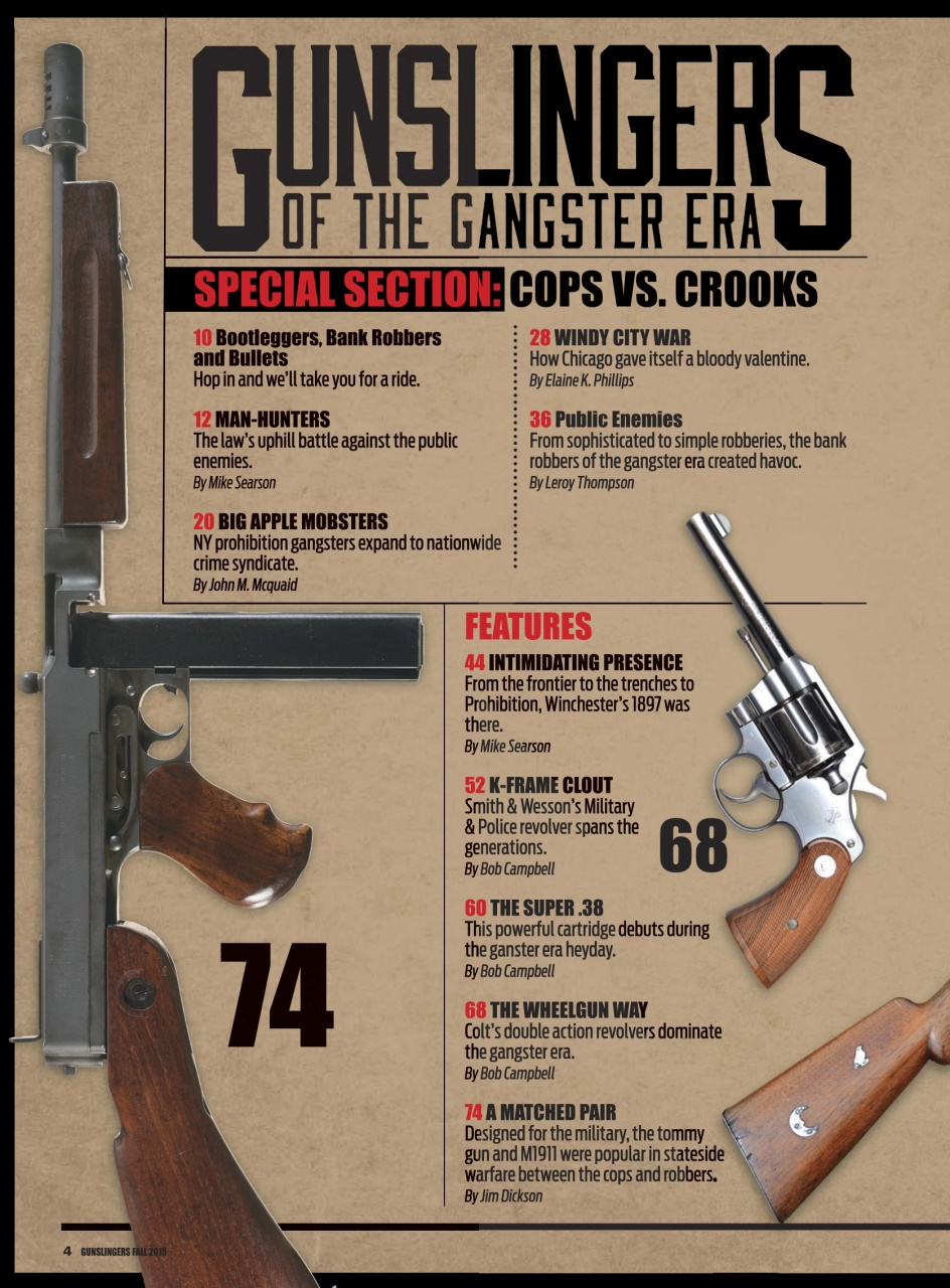 Gunslingers Magazine Subscription Cover
