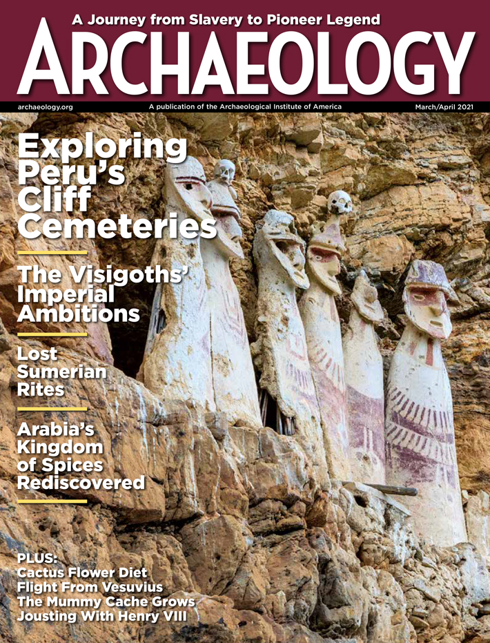 Archaeology Magazine Subscription Cover