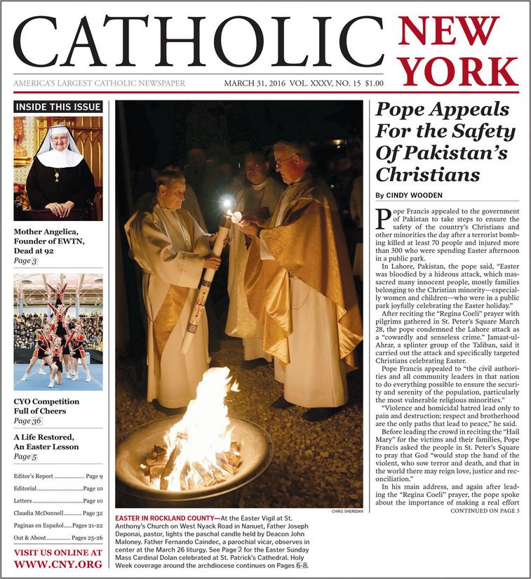 Catholic New York Magazine