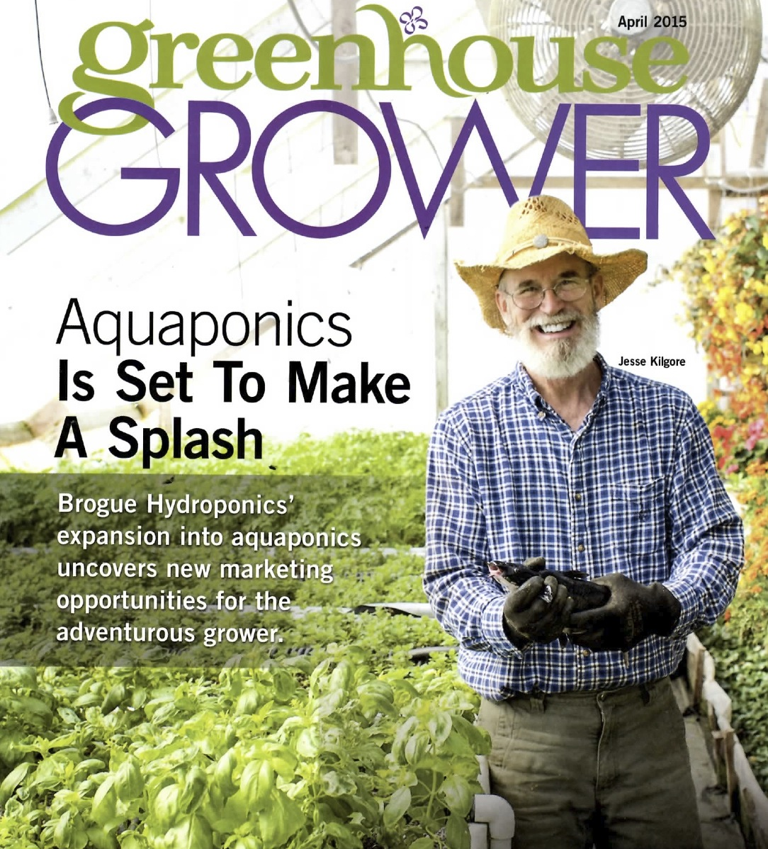 Greenhouse Grower Magazine Cover