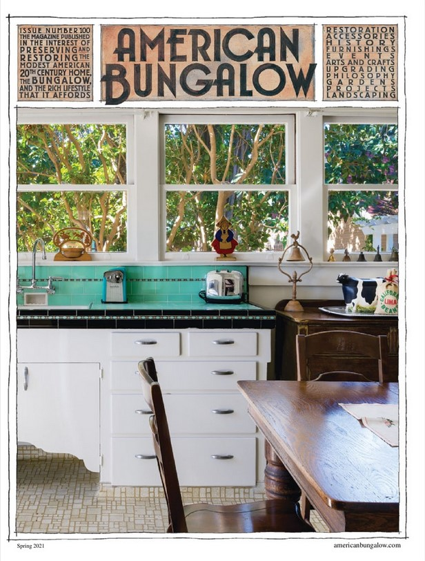 American Bungalow Magazine Cover
