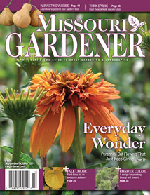 Missouri Gardener Magazine Cover