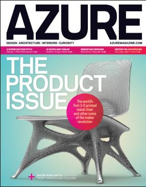 Azure Magazine Subscription Cover
