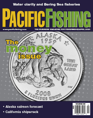 Pacific Fishing Magazine Cover