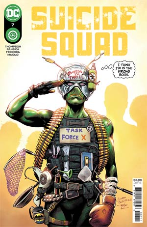 Suicide Squad (1/2 year) Magazine Cover