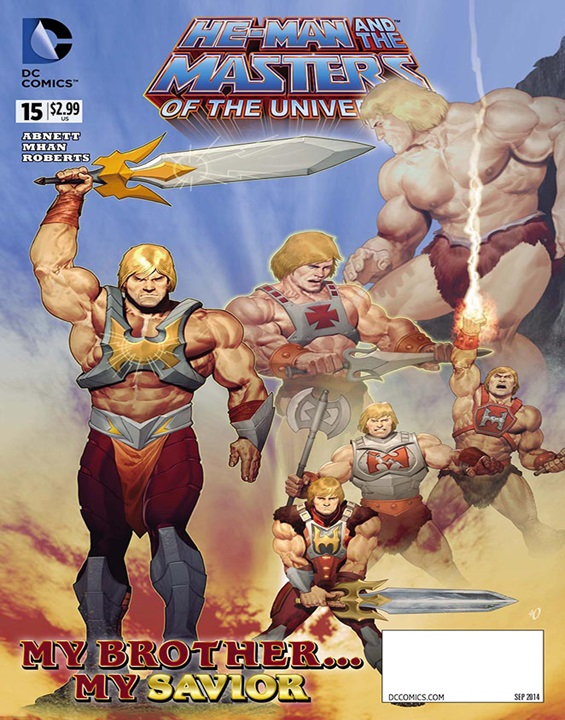 He-Man/Thundercats Magazine Subscription Cover