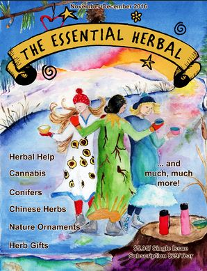 The Essenntial Herbal Magazine Subscription Cover