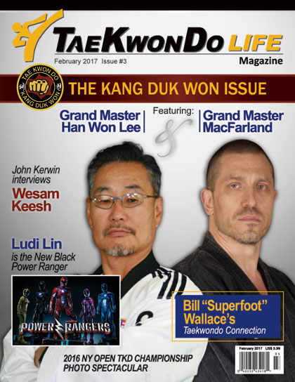 TaeKwonDo Life Magazine Subscription Cover